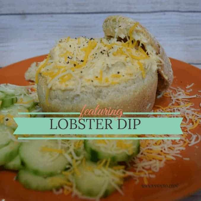 lobster, lobster dip, dipping, cheese, seafood dip, parties, celebrations, gatherings, tailgating, footballs, kids, families, birthdays, easy to make, fast, easy, recipe, recipes, foodie, fast food, fast bake, casserole, bread, bread bowls, bread bowl recipe, dana vento, recipes,