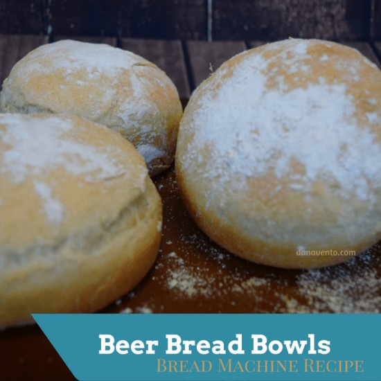 Beer bread bowls three