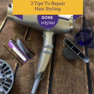 3 Tips To Repair Hair After Styling Gone Wrong