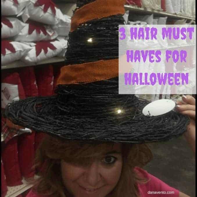 3 Hair Must Haves For Halloween