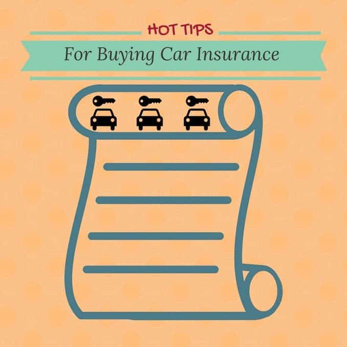 Hot Tips For Buying Car Insurance