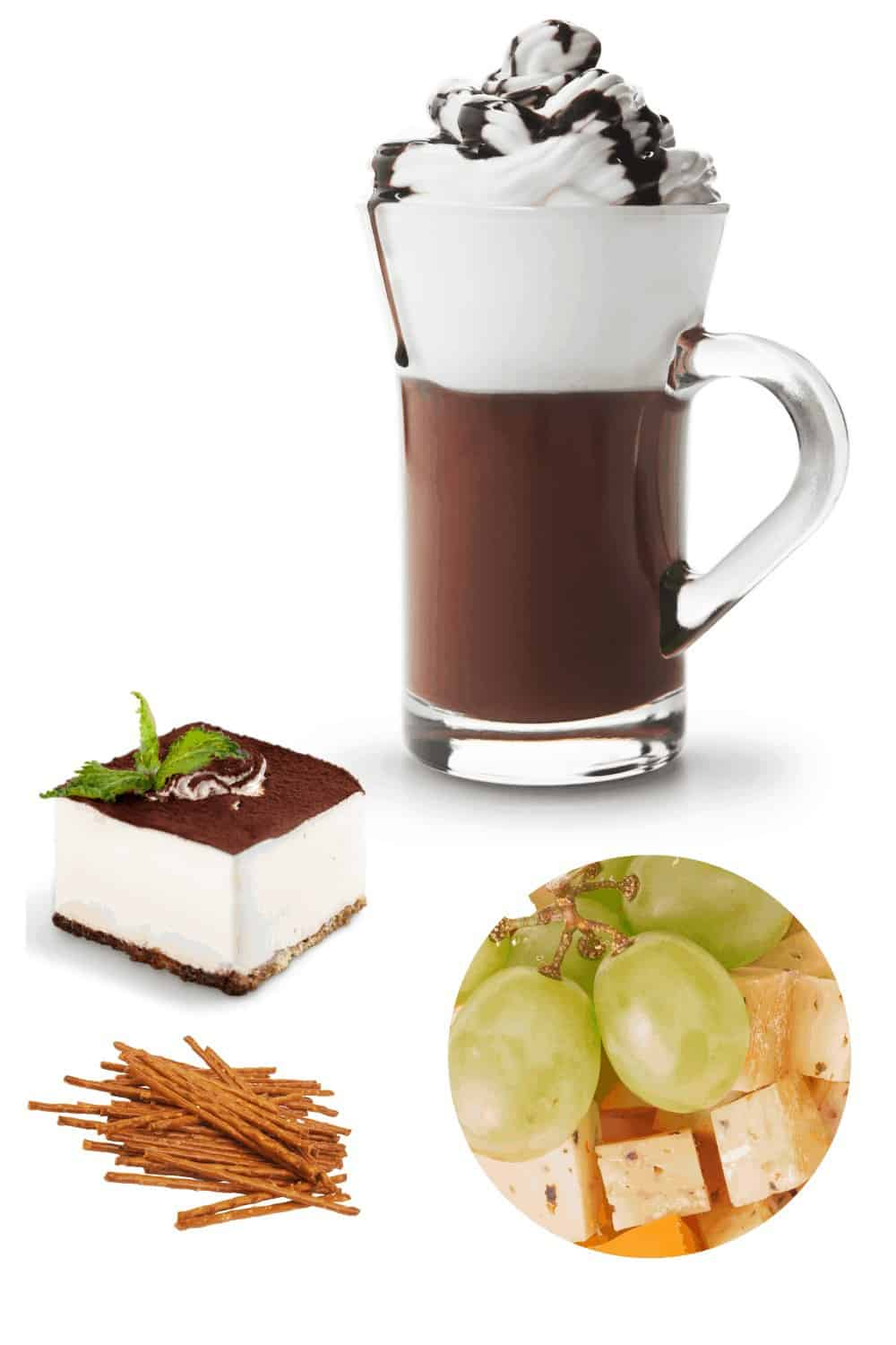 Hot Chocolates and Food together
