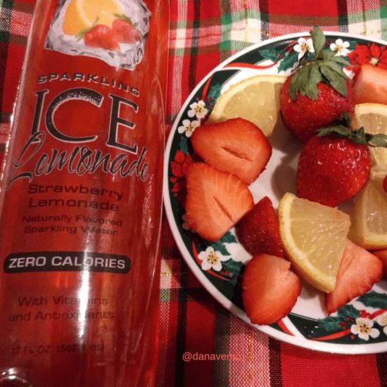 snow kissed strawberry bellini, strawberries, ice, sugar, puree, strawberry lemonade, garnish, serve, cocktail, diy, over ice, holiday, libation, drink, spirited, flavor of the season, bellini, not peach bellini, prosecco, recipe, recipes, recipe dana vento, food writer