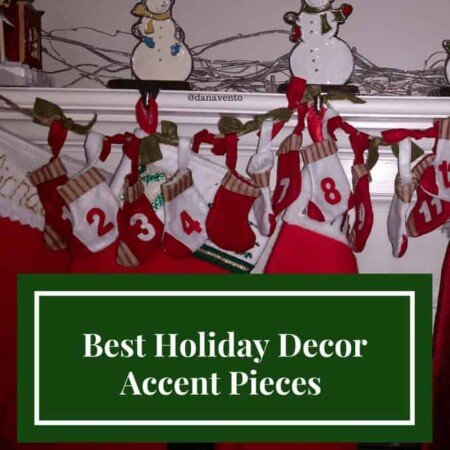 Best Holiday Decor Accent Pieces, Holiday, Holiday Decorating, Decor, Decorations, christmas, new years, updates, diy, fast, easy, affordable