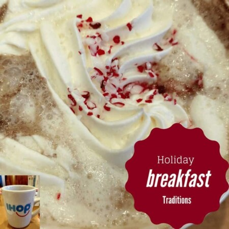 holiday breakfast traditions,iHOP family time, family gathering, dark chocolate peppermint pancakes, eggnog pancakes, pumpkin spice pancakes, frosted mint hot chocolate, toasted marshmallow hot chocolate, holiday celebrations menu, holiday traditions,limited time menu, food, dining out, dinner, lunch, breakfast, pancakes, waffles, allergen friendly, iHOP, food writer, dana