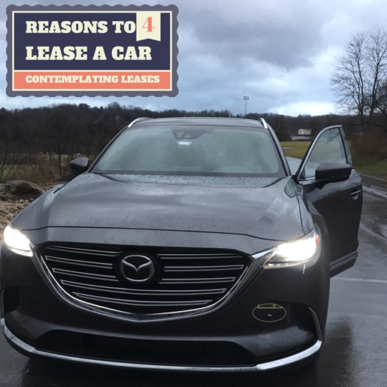 """4 REASONS TO LEASE A CAR, Mazda, Mazda CX-9, Drive Mazda, 2016, 20"""" alloy wheels, awd, stering, power automatic door locks, cruise control, heated front seats, trailer stability assist, 3 row seating, 7 passenger, cargo space, led headlights with auto on/off, high beam conrol, roof mounted shark fin antenna, electronic parking brake, heated power mirrors, blind spot monitoring, 310 lb ft torque, 227 hp, all season tires, power moonroof, tilt leather steering, driver seat memory 2 positions, rosewood interior, 2nd row sunshades, auto blog, car, vehicle, mazda suv, largest mazda suv, autoblogger, auto writer, cars, vehicles, suvs, dana, test drive, overview,"""
