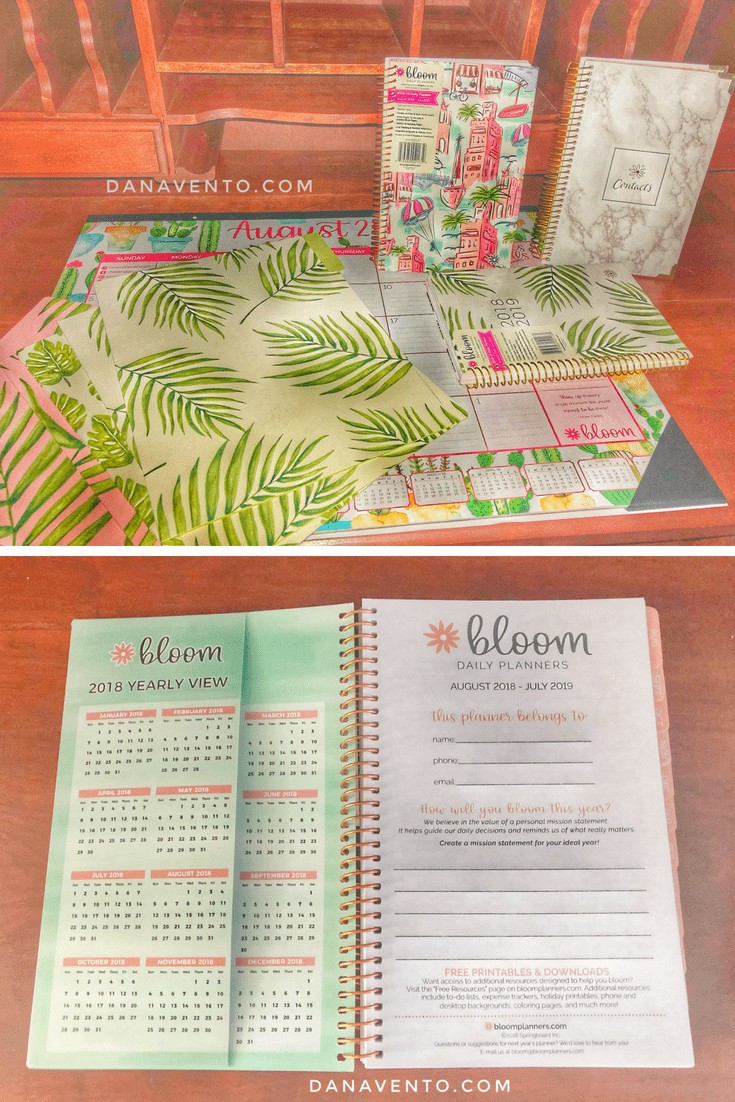 How To Bloom In Organization , bloom daily planner, college planning, life planning, to do list, travel, goals, notes, thoughts, numbers, organization, new year, new year resolution, easy to use, stay together, keep it calm