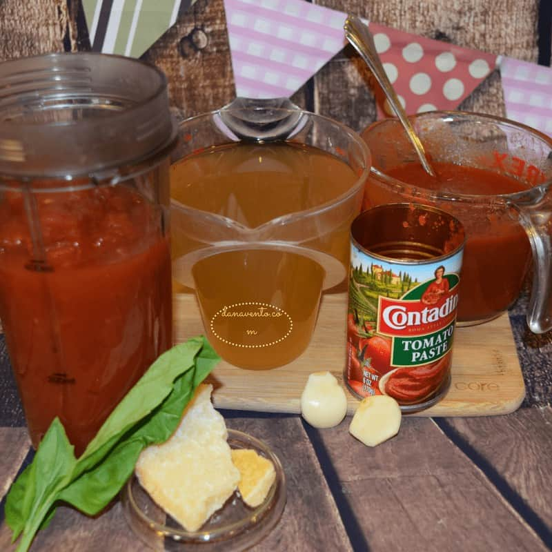 pressure cooker, pressure cooker soup, pressure cooker recipe, tomato basil soup, pressure cooker tomato soup with fresh basil, easy, fast, hot, homemade, simple, few ingredients, made from scratch, recipe, recipes, pressure cooker recipes, delicious, tomatoes, garlic, dana vento, recipe