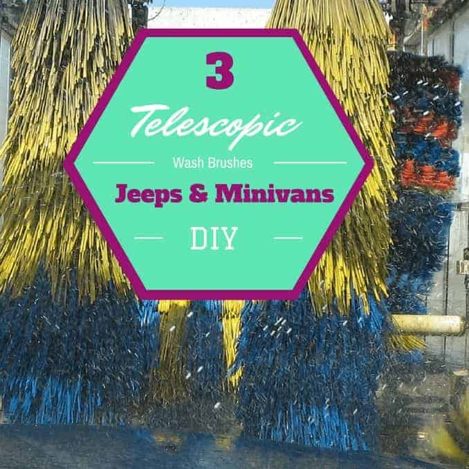 3 Telescopic Wash Brushes For Jeeps and Minivans