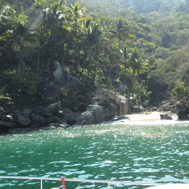 Cove of Colimis in Puerto Vallarta