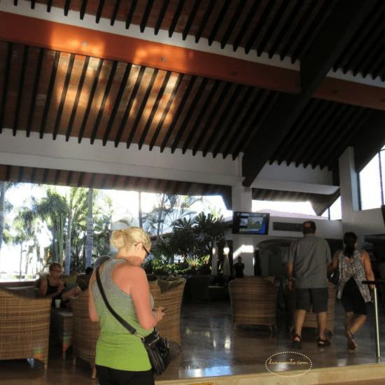 Buenaventura Grand Hotel Lobby Area in Puerto Vallarta
