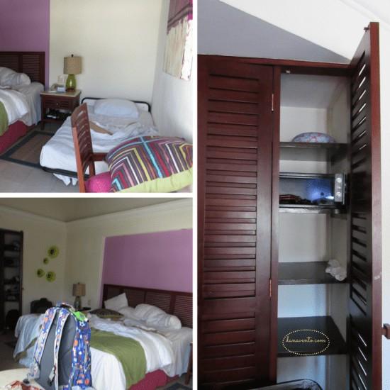 Buenaventura Hotel closets in Puerto Vallarta