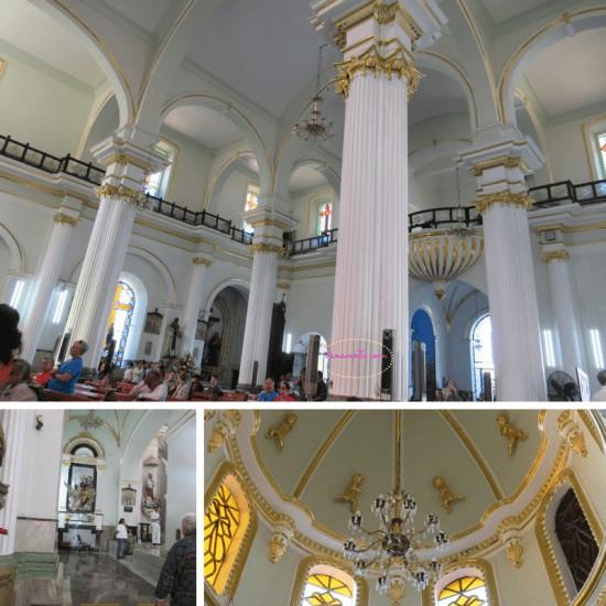 Inside La Iglesia de Nuestra Senora de Guadalupe