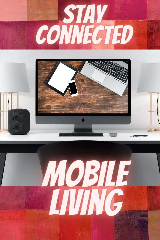 mobile living - laptop, tablet, computer