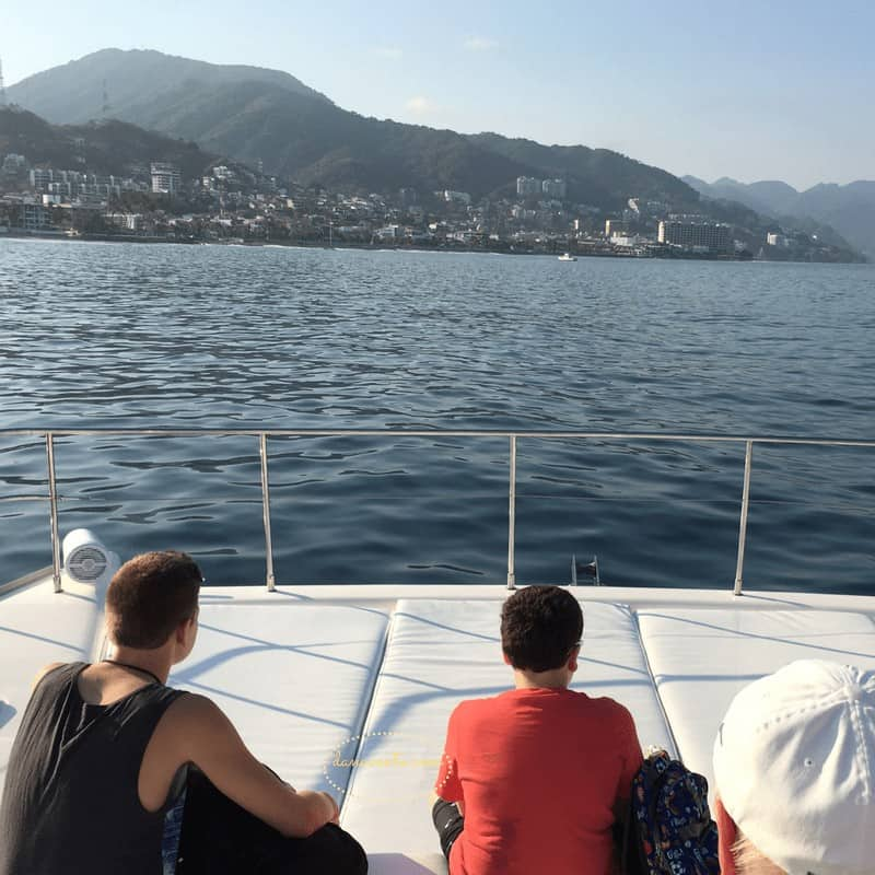 Sailing before we arrived at Los Arcos in Puerto Vallarta
