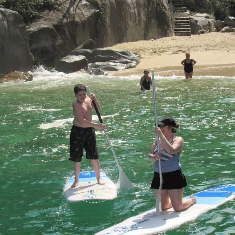 Paddle Boarding in Playa Colomitos The secret beach of Puerto Vallarta