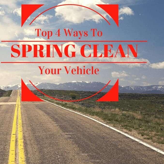 Top 4 ways to spring clean your vehicle, car, auto, minivan, chrysler, jeep, truck, sedan, car, auto, auto blog, diy, cleaning, car cleaning, vehicle cleaning, smell, mats, trunk, garbage windows, travel, adventure, auto blog, dana