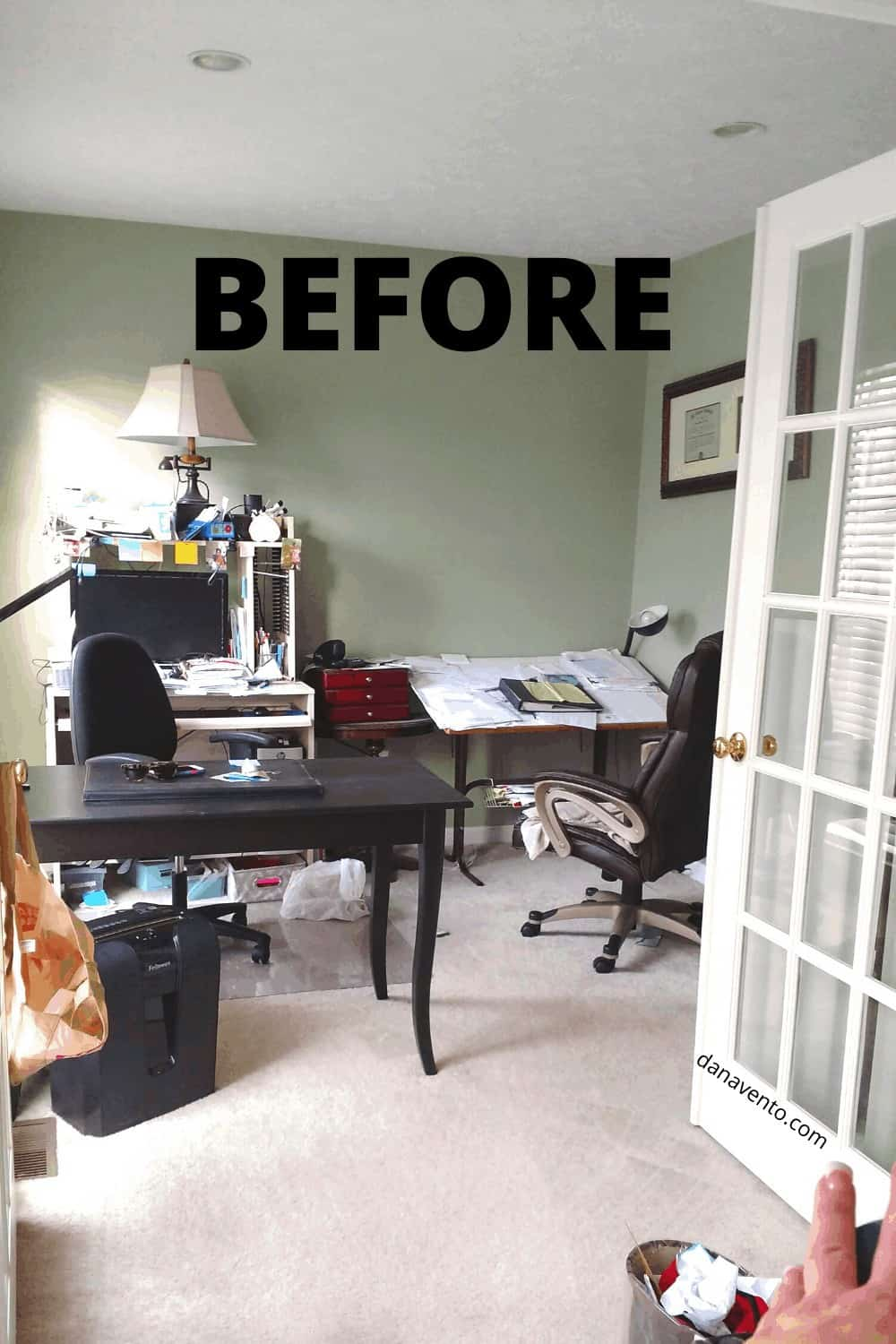 Before IKEA Makeover