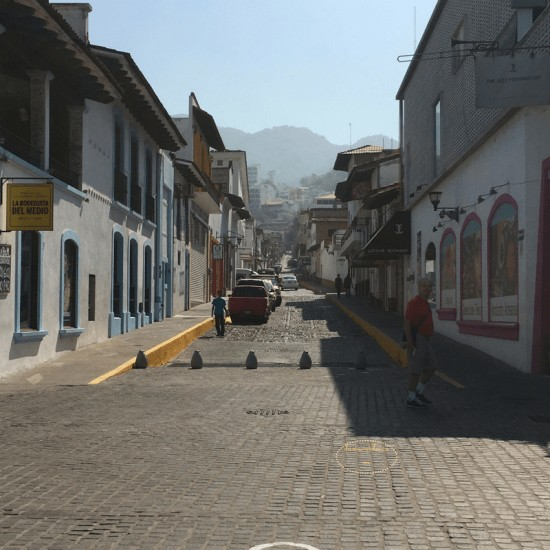 Puerto Vallarta Malecon. Strolling and seeing side streets