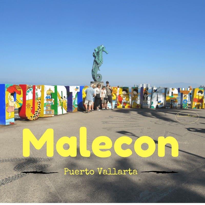 The Malecon in Puerto Vallarta