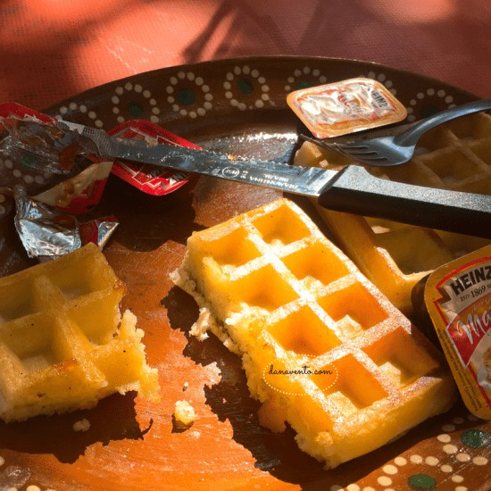 That's my waffle