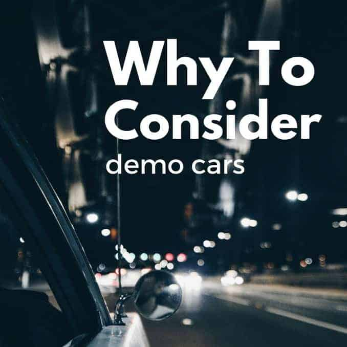 Why Consider Demo Cars From Dealerships