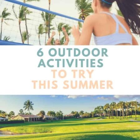 Outdoor activities for summer.
