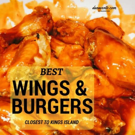 BEST WINGS AND BURGERS CLOSEST TO KINGS ISLAND,sweet bbq on top, applewood-smoked bacon, and cheddar jack, topped off with the signature onions rings, all served atop a brioche bun, the buffalo ringer, burger, meat, delicious, family food, allergen friendly, close to Kings Island, Wings, Bites, Appetizers, Salads, Drinks, Sports Bar, restaurant, dining in, dining outside, carry out, friendly service, lots of selection, big menu, great dining, ohio, mason, restaurant reviews, cincinatti, ohio, ohio food, ohio wings, close to the amusement park, play hard, eat hearty, allergen friendly wings