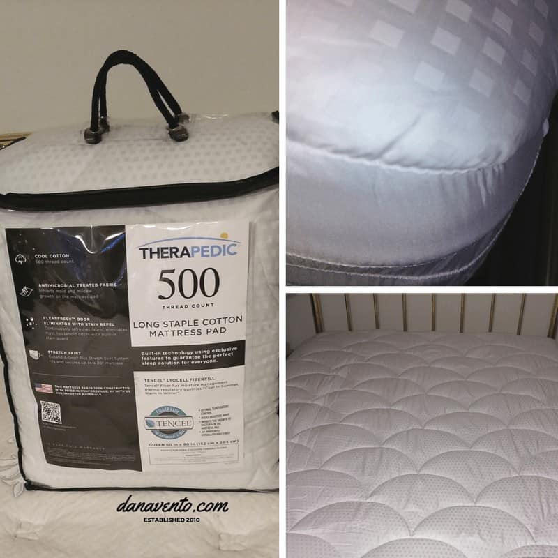 3 reasons to change mattress pads, tencil, made in usa, queen, king, single, beds, built-in, exclusive, cotton mattress pad, clear fresh, expand a grip, cool cotton, skirt system, puffy and comfortable, clean, thread count, bacteria inhibiting, temp control, wick away moisture
