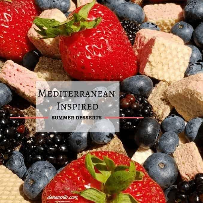 Quadratini wafers with fresh fruit piled high