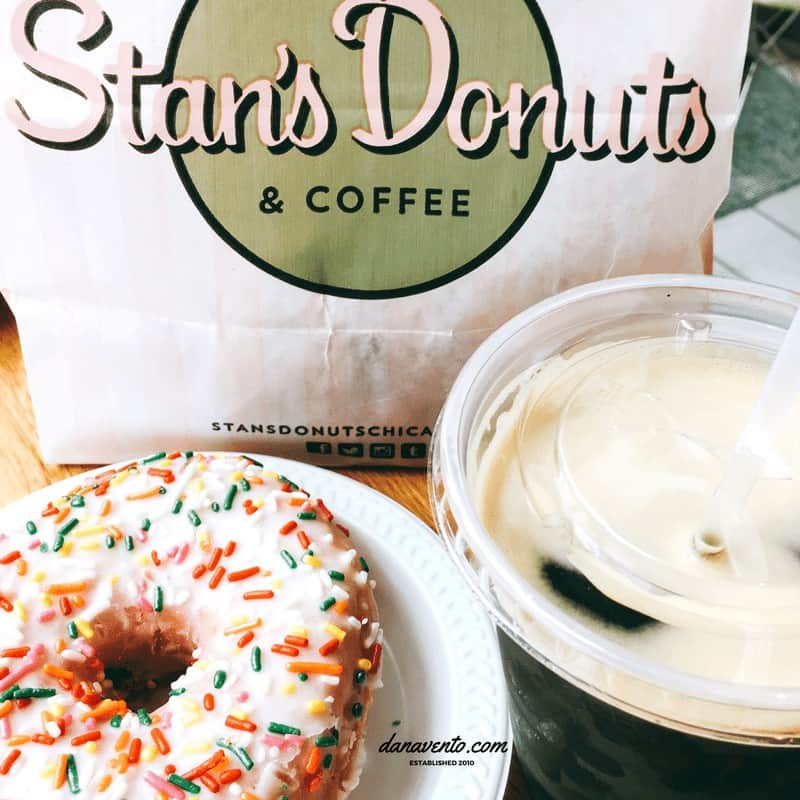 Stan's Donut and a Nitro Coffee Chicago