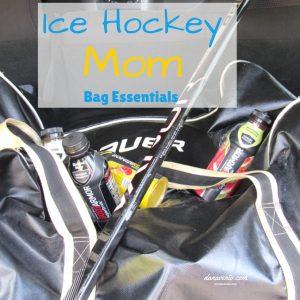 Ice Hockey Mom Bag Essentials