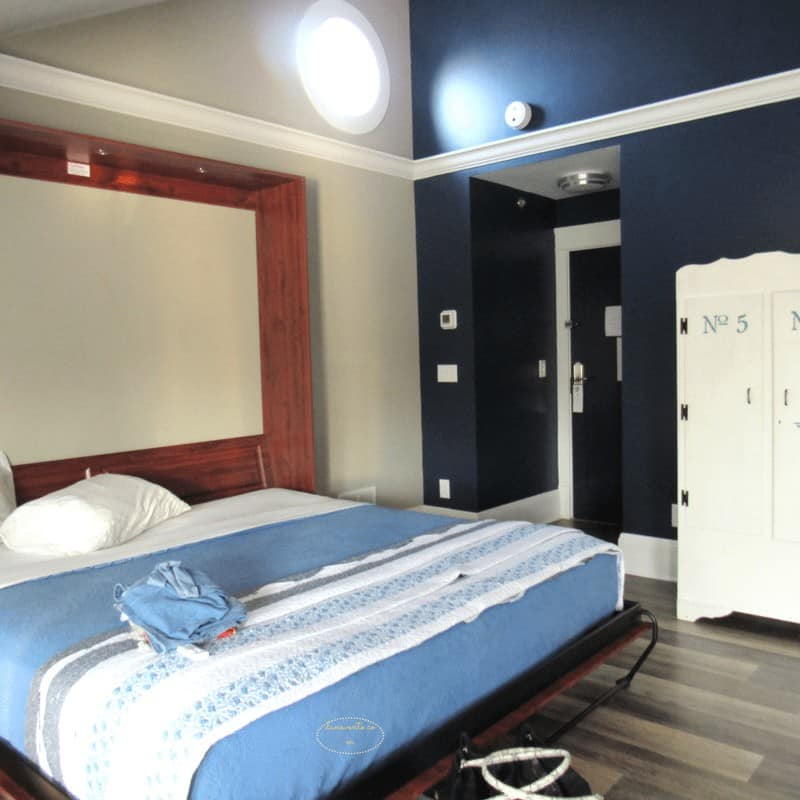 Murphy Bed at Boutique hotel in Put In Bay