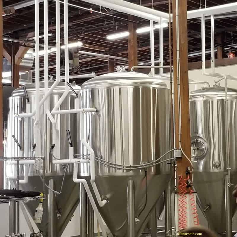 Cabarrus Brewing vats