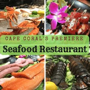 Cape Coral's Premier Seafood Restaurant