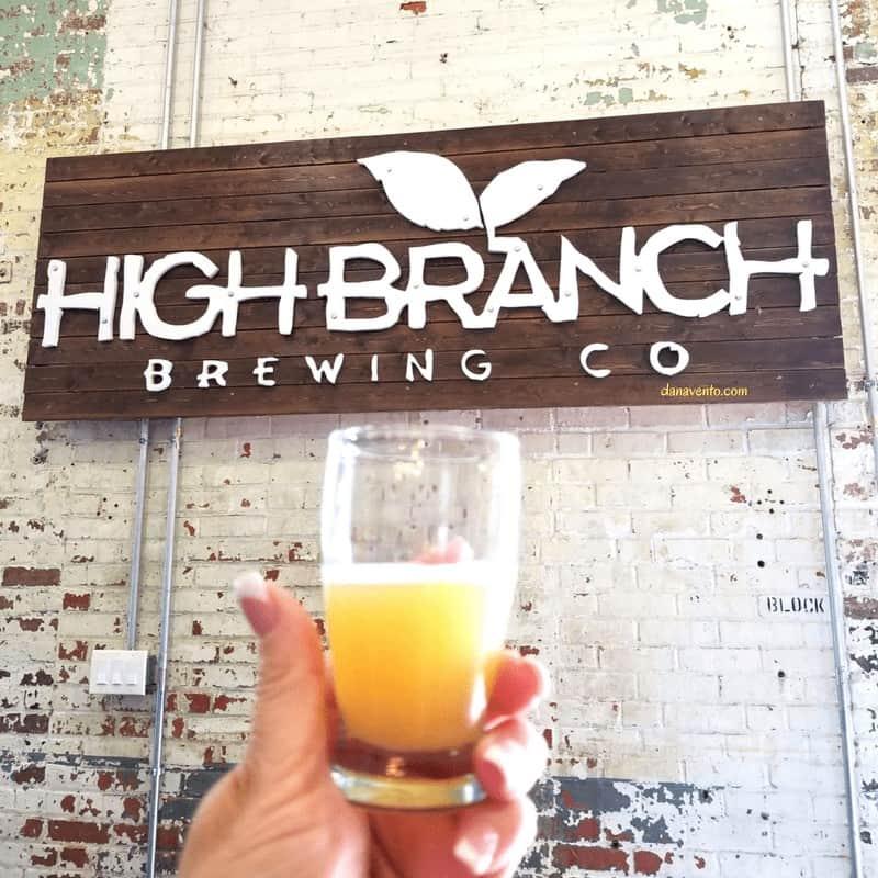 High Branch sign