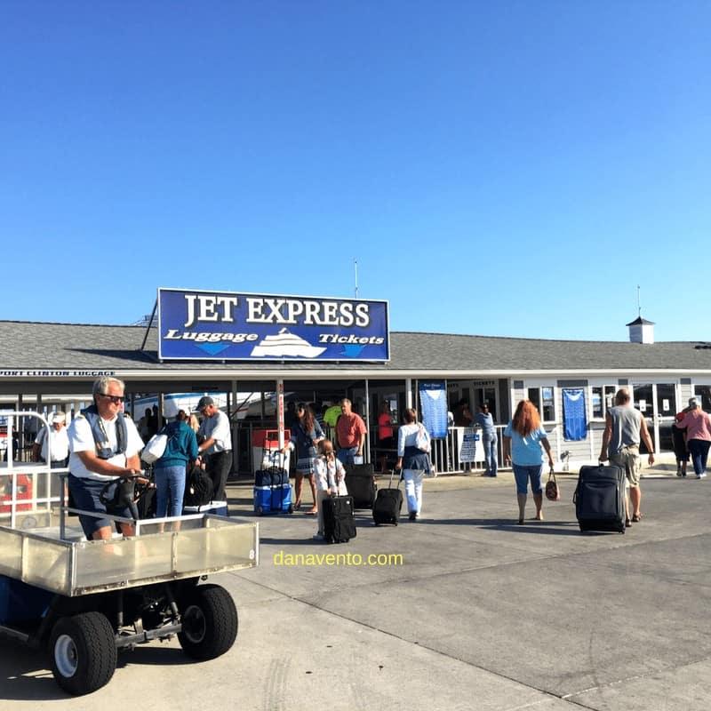 Jet Express Port on Sandusky Side