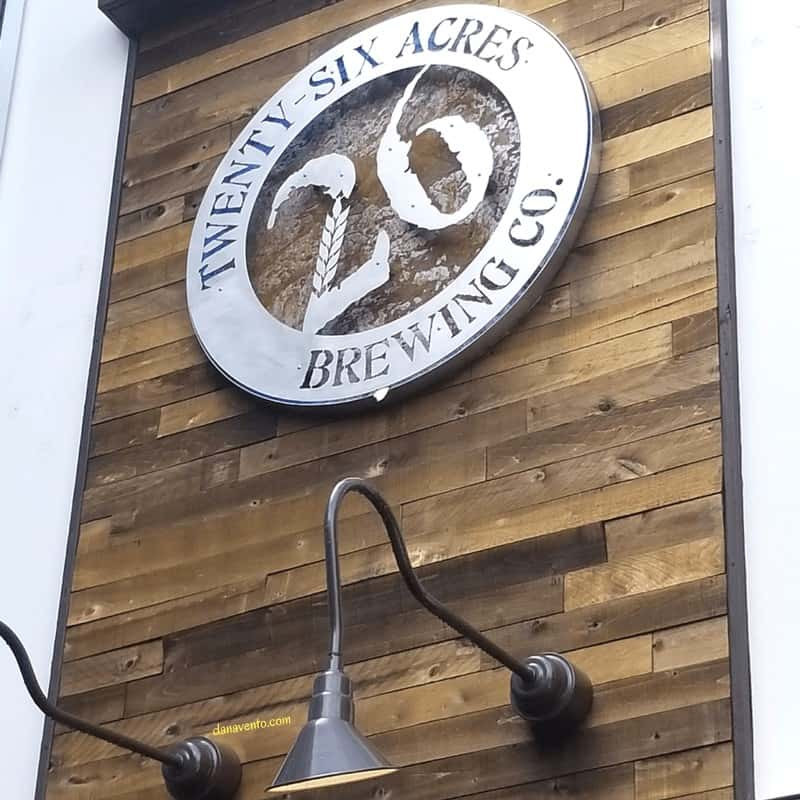 twenty six acres brewery