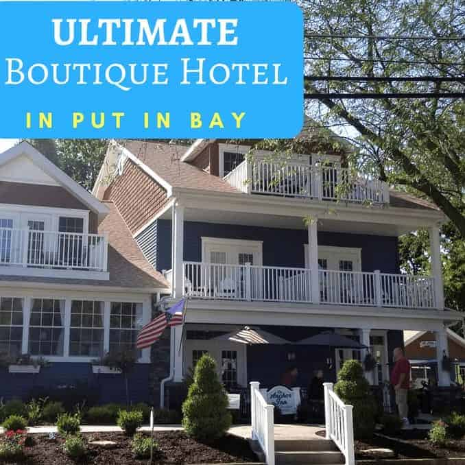 Put In Bay Boutique Hotel From Front