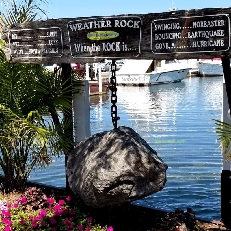 Weather Rocks at the docks Put In Bay