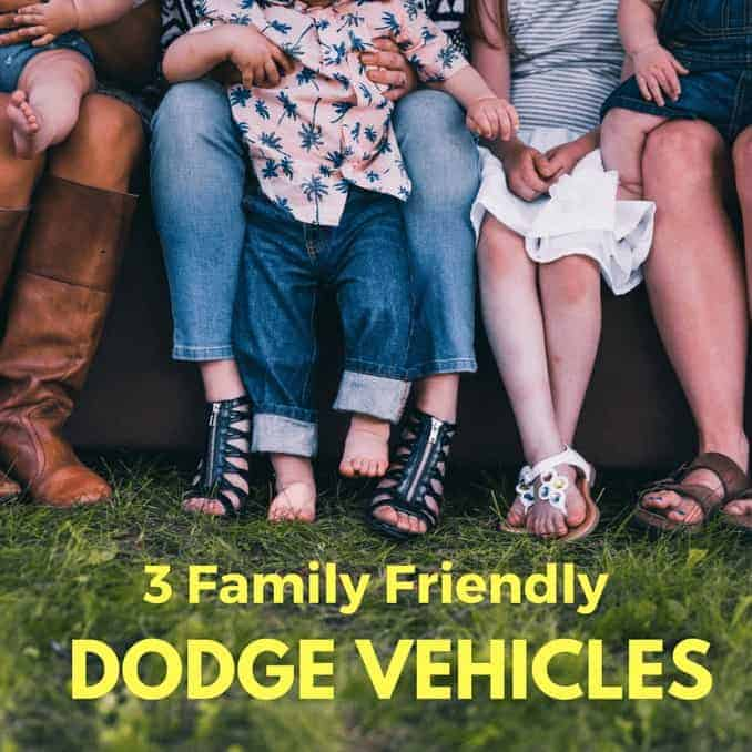 3 Family Friendly Dodge Vehicles