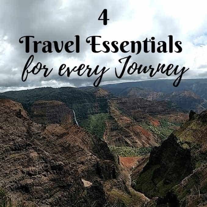 4 Travel Essentials For Every Journey