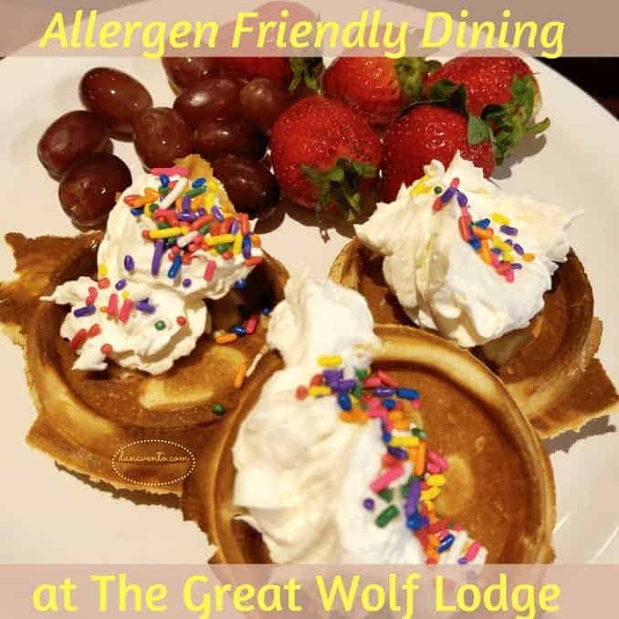 Allergen friendly dining at the great wolf lodge, A Weekend Getaway At The Great Wolf Lodge Poconos.Great Wolf Lodge, Great Wolf Lodge Poconos, Great Wolf Lodge Adventure, Poconos, Pennsylvania, Family Getaway, allergen friendly dining, Grizzly Bear Suite, Waterpark, activities, kitchenette, 3 sleeping area, 2 bathrooms, games, arcade, shopping, dining, Starbucks, Story time, Spa, Bowling, Glow in the dark golf, fast food, fun food, teens, toddlers, prek, elementary school, lifeguards, water rides, tubing, wave pool, hot tub, body slides, board slides, basketball, towels provided, adventures, wolf pass, souvenirs, walking, steps, magiquest, magic, wands, hallways, corridors, fun staff, plenty of parking, wristbands, coffee pot, refrigerator, Travel, Traveler, Traveling, Travel and Adventure, conquer the world, globe trotting, beautiful destination, bucket list avenger, travel blog, travel blogger, travel the world, see the world, travel deeper, travel destination, single, couples, families, activities, where to, explore more, tourism, passion passport, travel blogging, travel article, where to travel, travel tips, travel envy, travel knowledge, activities, fun activities, daring activities, travel large, Car travel, travel by car, travel by vehicle, auto travel, traveling together, diy, packing, travel packing, travel tips, travel advice, travel essentials, toss these in, luggage, packing, more travel fun, travel and adventures, family adventure time, couple adventure time, brighten up, clean up, pack up, food, food in car, food for travel. Pennsylvania, travel writer, family travel, adventure for the family, where to take families,food, dining, dining out, allergies and food, dining out with nut allergies, latex allergies, allergies to fruit, allergies to honey, allergies to seafood, dining with severe food allergies