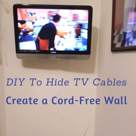 DIY To Hide TV Cables Creating A Cord-Free Wall, diy, how to, easy, cable free, cable free walls, hide wires, use wall to hide wire, wire kit, diy blog, how to do, install wirefree, television, flat screen television, go wirefree,, at home, project, diy project, diy decor, upgrade your look, Amazon, Shop online, ship to home, fast, easy, diy to hide, hide ugly cables, hide power cord, television, wall mounted television