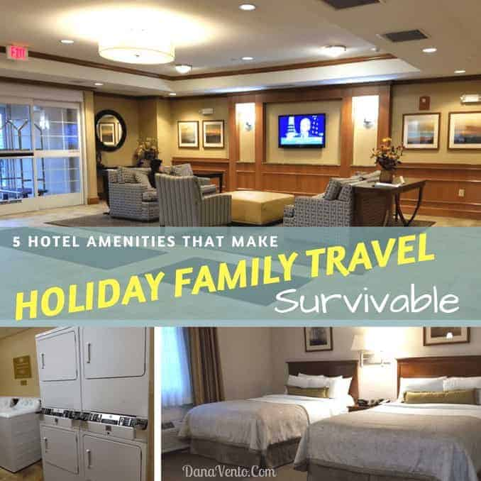 5 Hotel Amenities That Make Holiday Family Travel Survivable