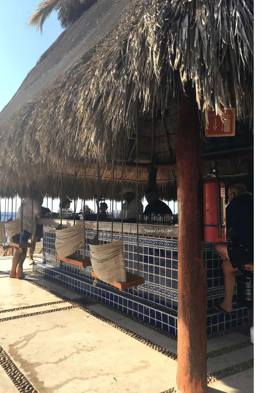 Puerto Vallarta outside bar