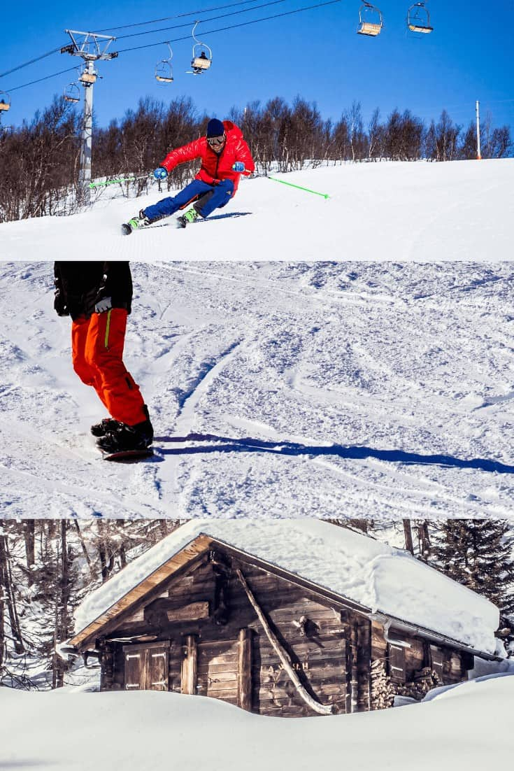 skiing, cottages and snowboarding for getaways in the winter
