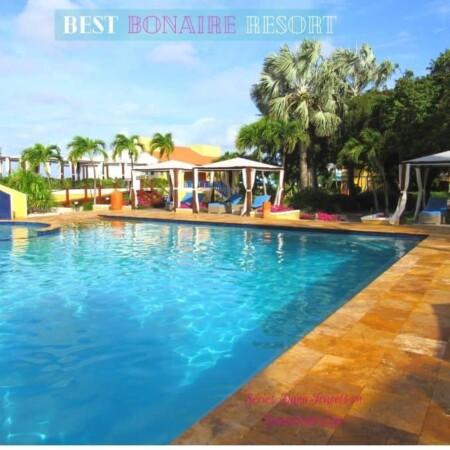 Best Bonaire Resort Water Pool cabana
