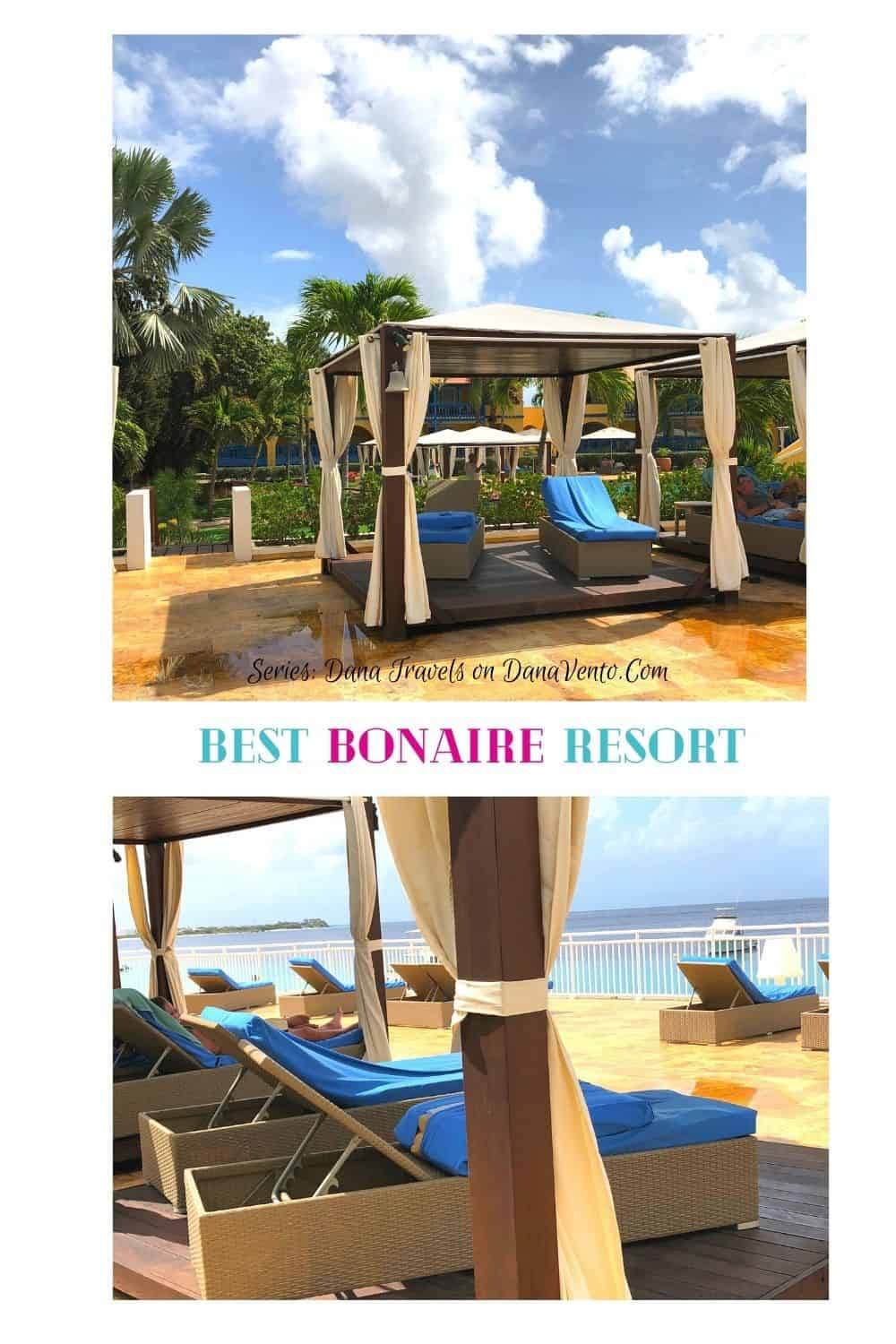 Cabanas atop the best views of the water