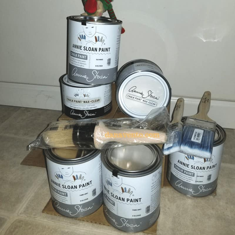 Annie Sloan Chalk Paint for project